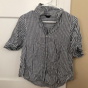 J crew short sleeve button up